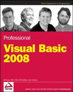 Evjen, Bill - Professional Visual Basic 2008, ebook