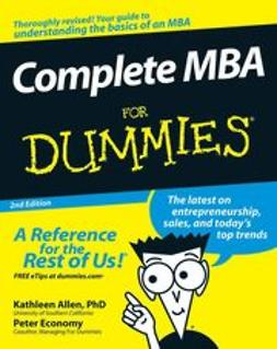 Allen, Kathleen - Complete MBA For Dummies, ebook
