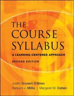 O'Brien, Judith Grunert - The Course Syllabus: A Learning-Centered Approach, ebook