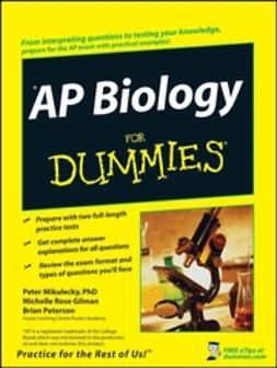 Gilman, Michelle Rose - AP Biology For Dummies, ebook