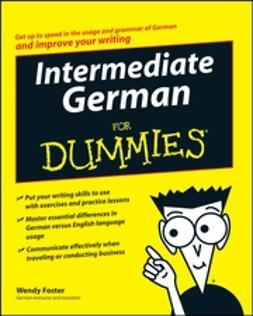 Foster, Wendy - Intermediate German For Dummies, ebook