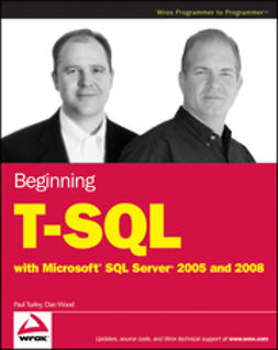 Turley, Paul - Beginning T-SQL with Microsoft SQL Server 2005 and 2008, ebook