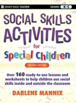 Mannix, Darlene - Social Skills Activities for Special Children, ebook