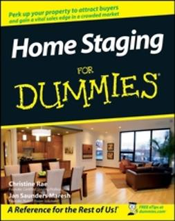Maresh, Janice Saunders - Home Staging For Dummies, ebook