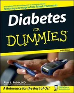 Rubin, Alan L. - Diabetes For Dummies, e-bok