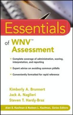 Brunnert, Kimberly A. - Essentials of WNV Assessment, ebook