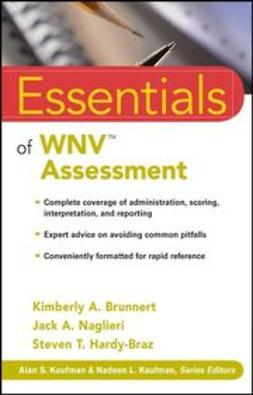 Brunnert, Kimberly A. - Essentials of WNV Assessment, e-kirja