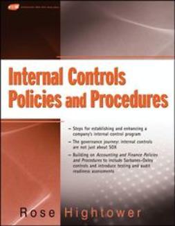 Hightower, Rose - Internal Controls Policies and Procedures, ebook