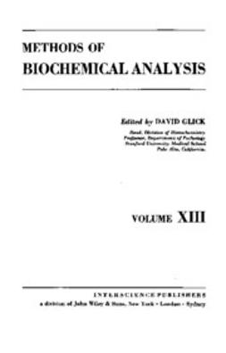 Glick, David - Methods of Biochemical Analysis, ebook