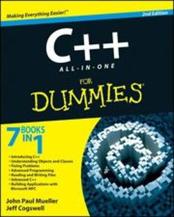 Mueller, John Paul - C++ All-In-One Desk Reference For Dummies, ebook
