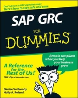 Broady, Denise Vu - SAP GRC For Dummies, ebook