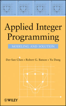Chen, Der-San - Applied Integer Programming: Modeling and Solution, e-bok