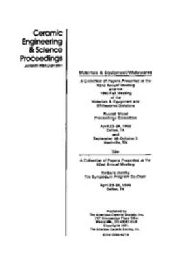 - Materials & Equipment/Whitewares: Ceramic Engineering and Science Proceedings, Volume 12, Issue 1/2, e-kirja