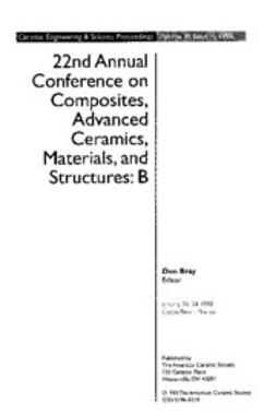 - 22nd Annual Conference on Composites, Advanced Ceramics, Materials, and Structures: B: Ceramic Engineering and Science Proceedings, Volume 19, Issue 4, e-kirja
