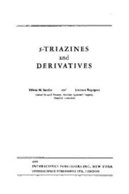 Rapoport, L. - The Chemistry of Heterocyclic Compounds, Triazines, ebook