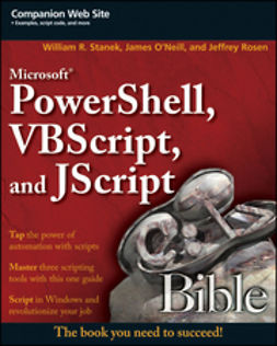 O'Neill, James - Microsoft PowerShell, VBScript and JScript Bible, ebook