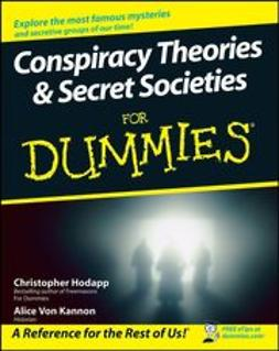 Hodapp, Christopher - Conspiracy Theories & Secret Societies For Dummies<sup>&#174;</sup>, ebook