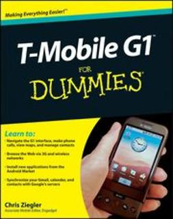 Ziegler, Chris - T-Mobile G1 For Dummies, ebook
