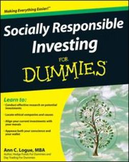 Logue, Ann C. - Socially Responsible Investing For Dummies<sup>&#174;</sup>, ebook