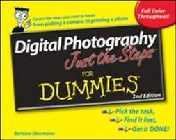 Obermeier, Barbara - Digital Photography Just the Steps<sup><small>TM</small></sup> For Dummies<sup>&#174;</sup>, ebook