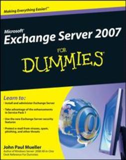 Mueller, John Paul - Microsoft Exchange Server 2007 For Dummies, ebook