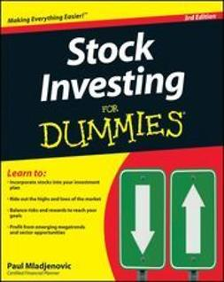 Mladjenovic, Paul - Stock Investing For Dummies®, e-bok