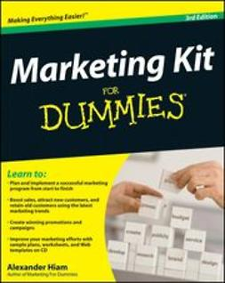 Hiam, Alexander - Marketing Kit for Dummies, ebook
