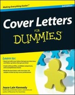 Kennedy, Joyce Lain - Cover Letters For Dummies<sup>&#174;</sup>, ebook