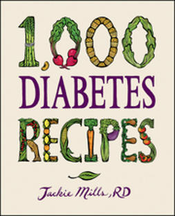 Mills, Jackie - 1,000 Diabetes Recipes, e-bok