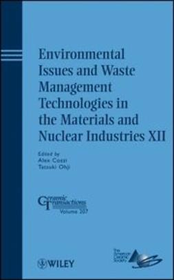 Cozzi, Alex - Environmental Issues and Waste Management Technologies in the Materials and Nuclear Industries XII: Ceramic Transactions, e-bok