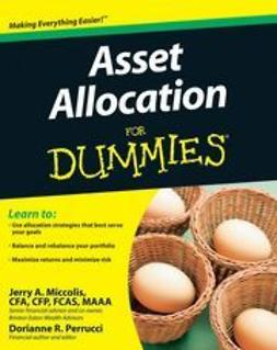 Perrucci, Dorianne - Asset Allocation For Dummies<sup>&#174;</sup>, e-kirja