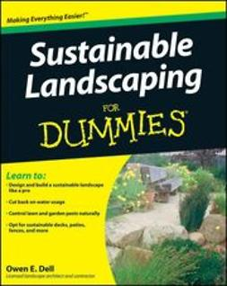UNKNOWN - Sustainable Landscaping For Dummies, ebook