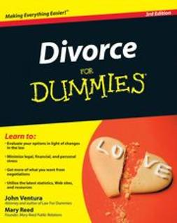 Ventura, John - Divorce For Dummies, e-bok