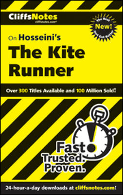 Wasowski, Richard P. - CliffsNotes on Hosseini?s The Kite Runner, ebook