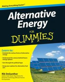 DeGunther, Rik - Alternative Energy For Dummies, ebook
