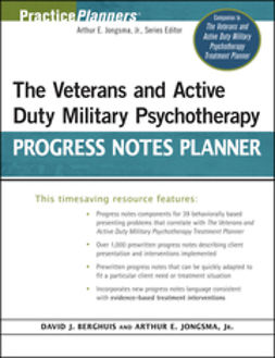 Berghuis, David J. - The Veterans and Active Duty Military Psychotherapy Progress Notes Planner, ebook