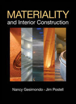 Postell, James (Jim) C. - Materiality and Interior Construction, ebook