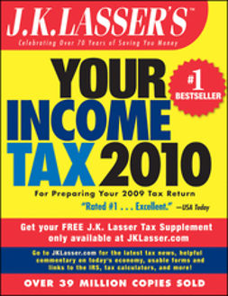 UNKNOWN - J.K. Lasser's Your Income Tax 2010: For Preparing Your 2009 Tax Return, ebook