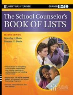 Blum, Dorothy J. - The School Counselor's Book of Lists, e-bok