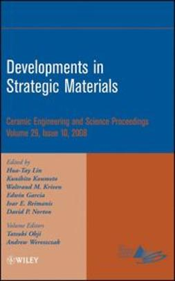 Lin, Hua-Tay - Developments in Strategic Materials: Ceramic Engineering and Science Proceedings, ebook