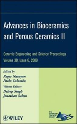 Narayan, Roger - Advances in Bioceramics and Porous Ceramics, e-bok
