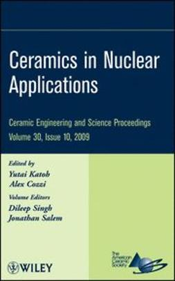 Katoh, Yutai - Ceramics in Nuclear Applications, ebook