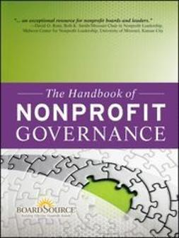 UNKNOWN - The Handbook of Nonprofit Governance, ebook