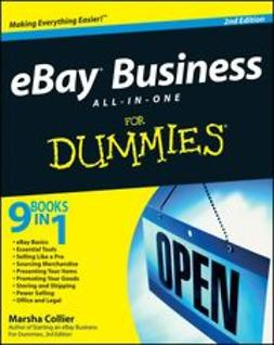 Collier, Marsha - eBay Business All-in-One Desk Reference For Dummies<sup>&#174;</sup>, e-bok