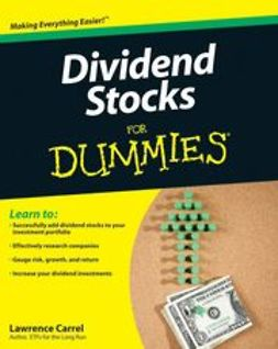 Carrel, Lawrence - Dividend Stocks For Dummies, ebook