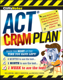 Ma, William - CliffsNotes ACT Cram Plan, ebook