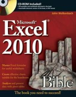 Walkenbach, John - Excel 2010 Bible, ebook
