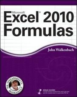 Walkenbach, John - Excel 2010 Formulas, ebook