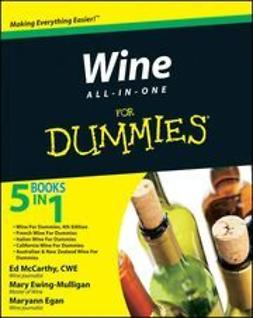 UNKNOWN - Wine All-in-One For Dummies<sup>&#174;</sup>, e-kirja