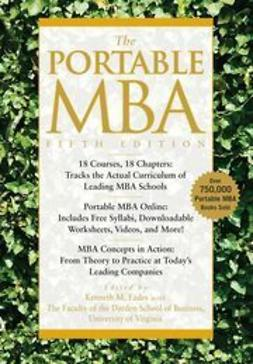 Eades, Kenneth M. - The Portable MBA, ebook
